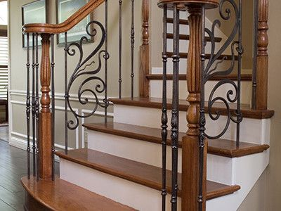 Rebecca Panels Paired With Monte Carlos Balusters In Oil