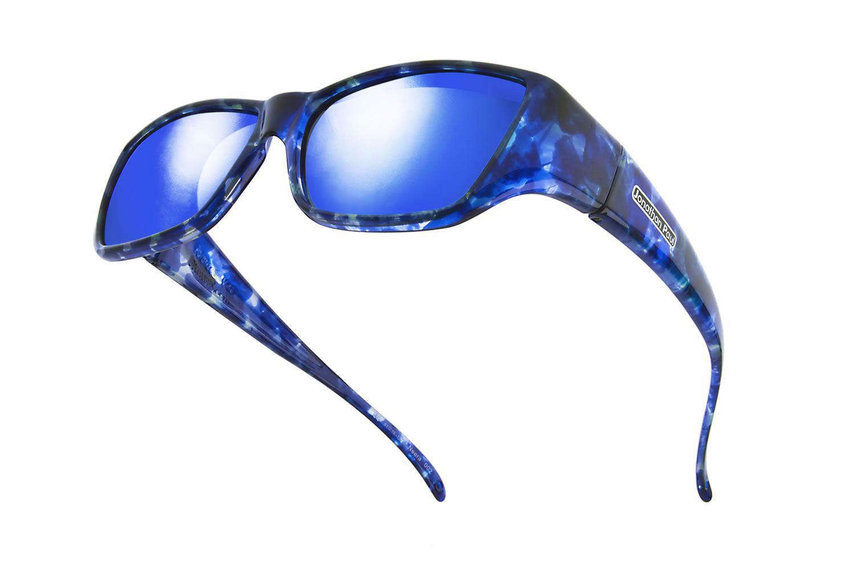 d91b51700e27 Neera™ Blue Blast (Blue Mirror) by Jonathan Paul® the Original Fitovers  Eyewear