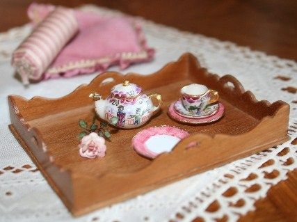 how to: miniature tray