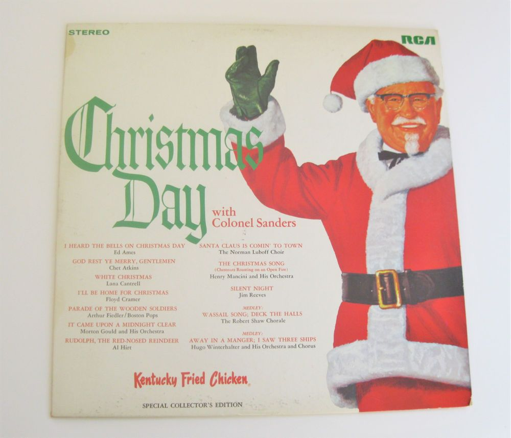 Christmas Day With Colonel Sanders Record Album 1968 Kentucky Fried ...