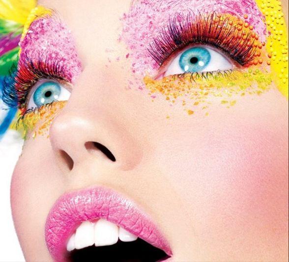 Célèbre maquillage artistique - Google Search   Explosion de couleurs  VB91