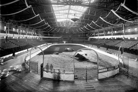 Ring For The National Horse Show At Madison Square Garden #vancouver  #horseshow #nostalgia