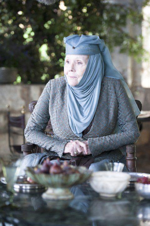 Diana Rigg Games Of Thrones