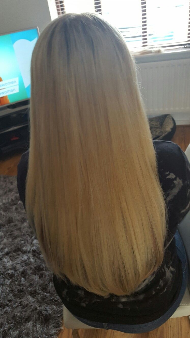 Micro ring extensions on a client who previously had a bad