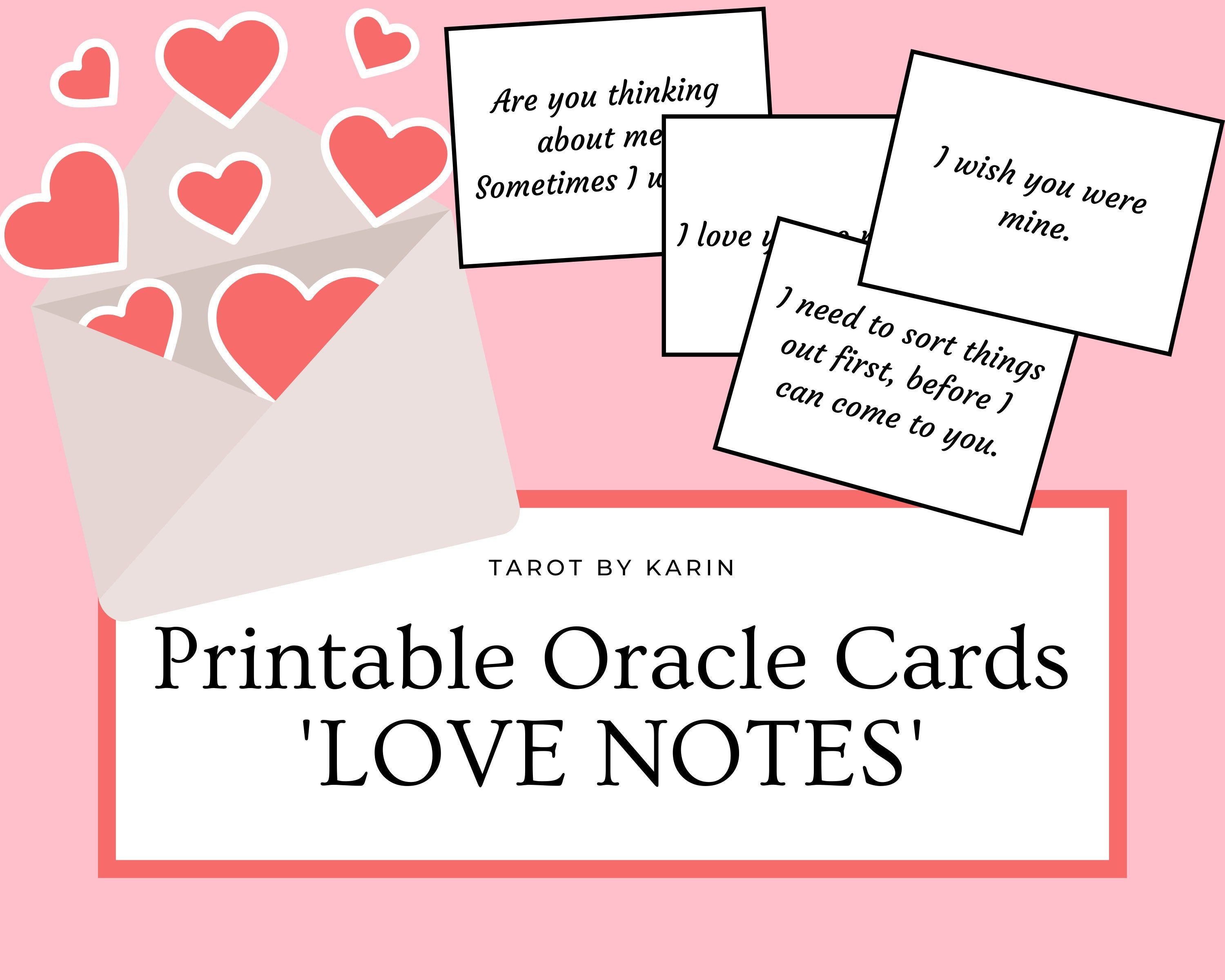 Pin On Printable Oracle Cards Instant Digital Downloads