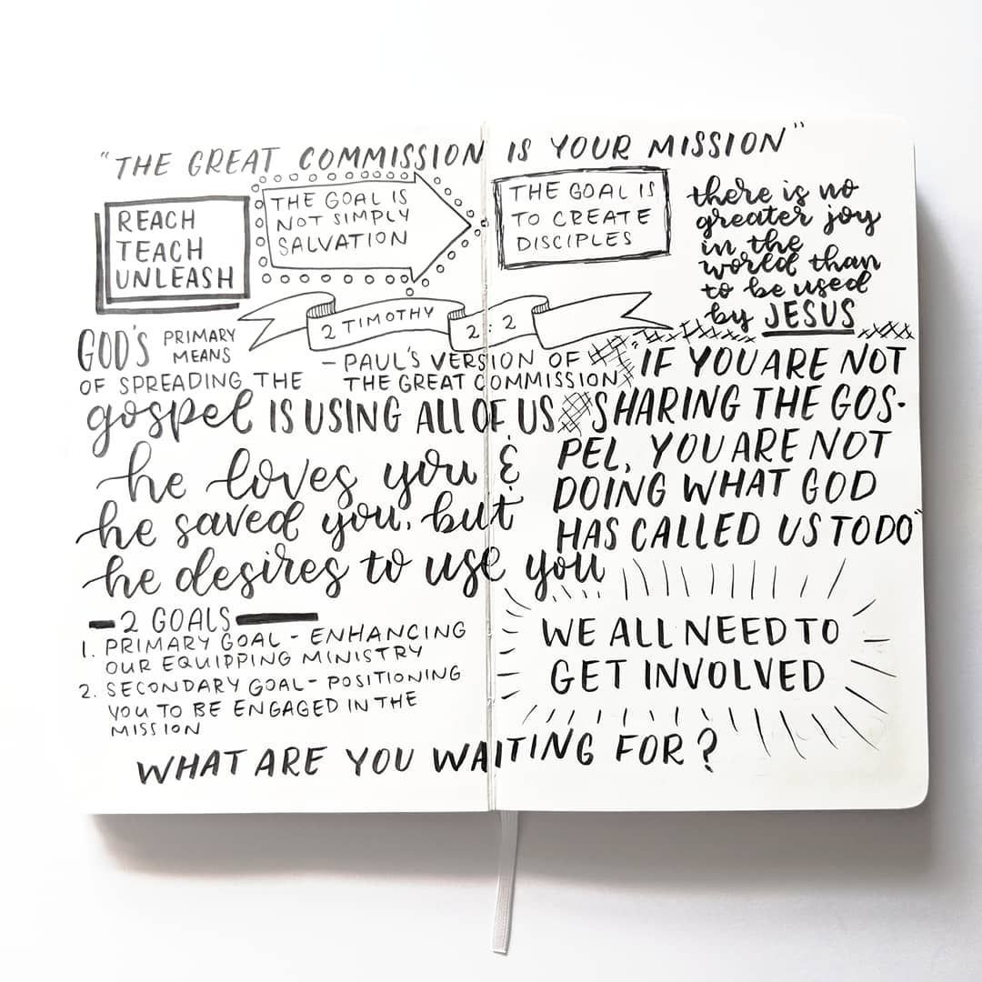 Here's yesterday's sermon notes  Our goal is not simply salvation