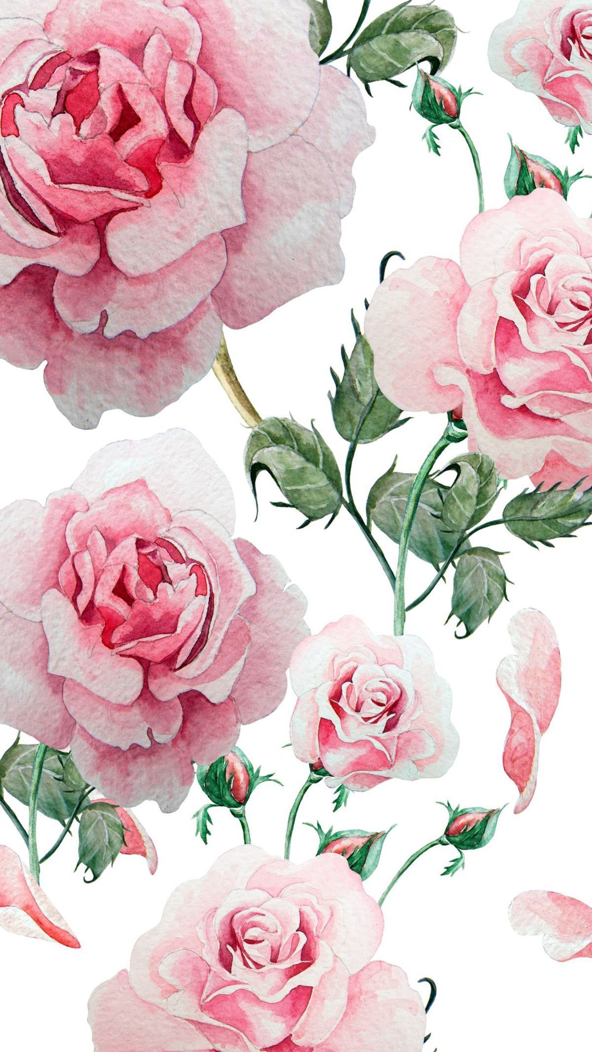 Rose Gold Roses Wallpaper 778581 Floral Wallpaper Gold