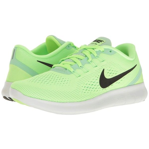 Nike Free RN (Ghost Green Black Fresh Mint Off-White) Women s ... ac9fef3ddb586