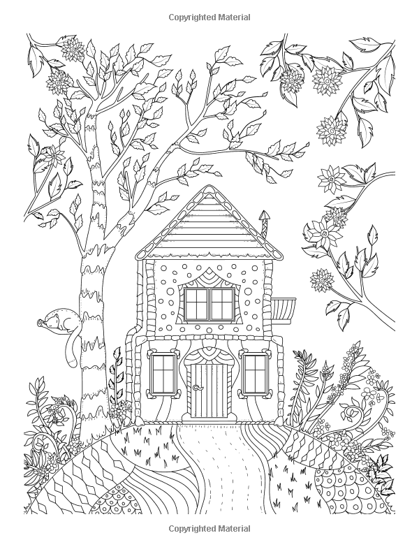 Adult Coloring Books Whimsical Journey Coloring Books For Adults Relaxation Flowers Landscape Mandala Coloring Pages Cool Coloring Pages Free Coloring Pages