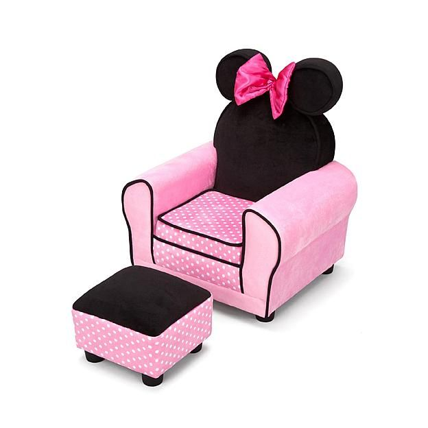 Wondrous Delta Children Disney Minnie Mouse Chair With Ears And Pdpeps Interior Chair Design Pdpepsorg