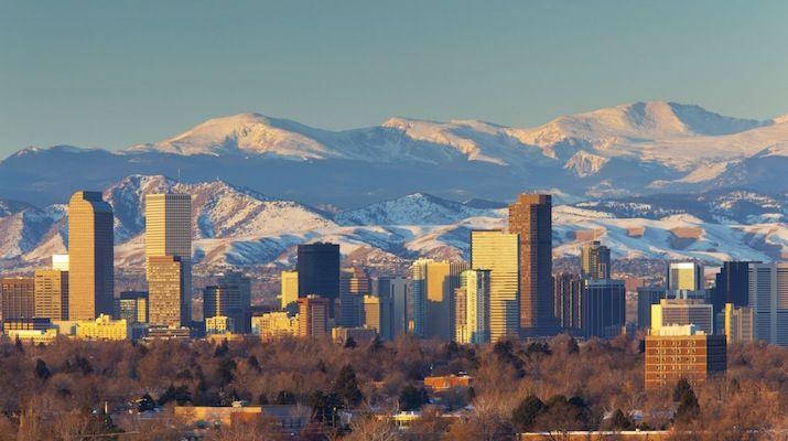 Denver The Mile High City Named Best Place To Live In U S Via Greenrushdaily Citysquareapts Epglife