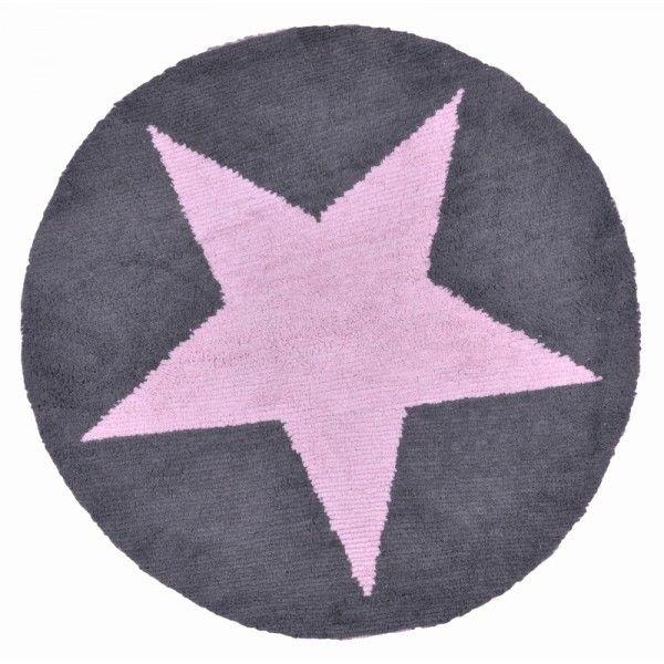 tappeto lorena canals reversibile con stella. 100 cotone