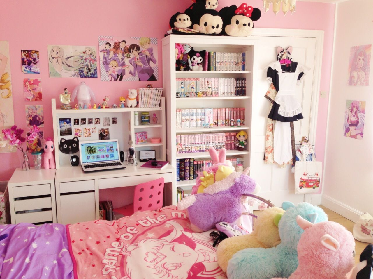 Cuartos Kawaii: I Am Living That Magical Girl Life Watch My ROOM TOUR Here