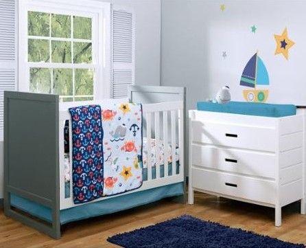 Barcos: decoración náutica para el cuarto de tu bebé