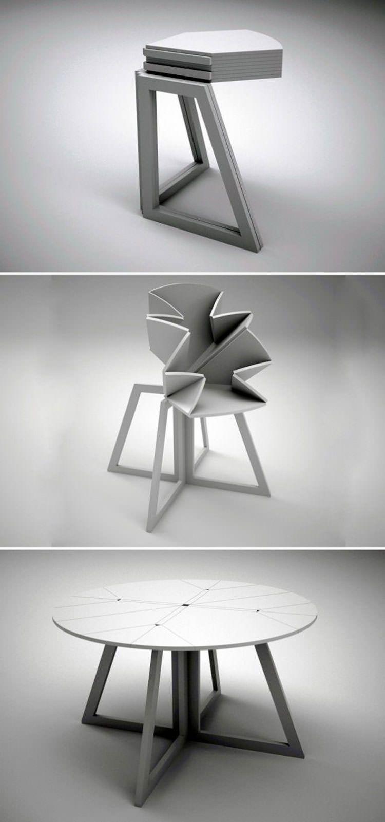 30 tavoli allungabili moderni dal design particolare for Mobili di design d occasione
