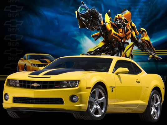 The 8 Best Movie Car Designs Ever Chevrolet Camaro Bumblebee