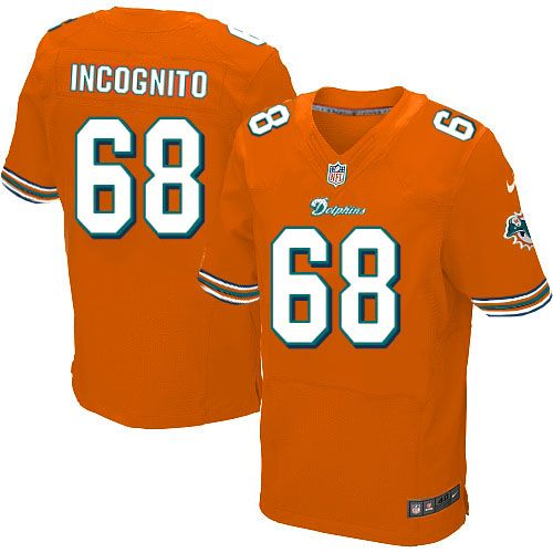... new zealand nike miami dolphins jersey 68 richie incognito orange jersey  mens elite nfl jersey sale 9d5d72c09