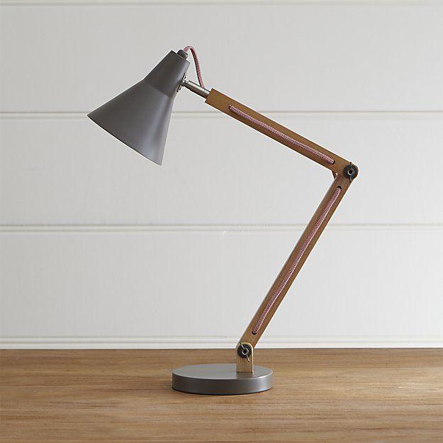 Rex Grey Desk Lamp In 2020 Desk Lamp Grey Desk Lamps Best Desk