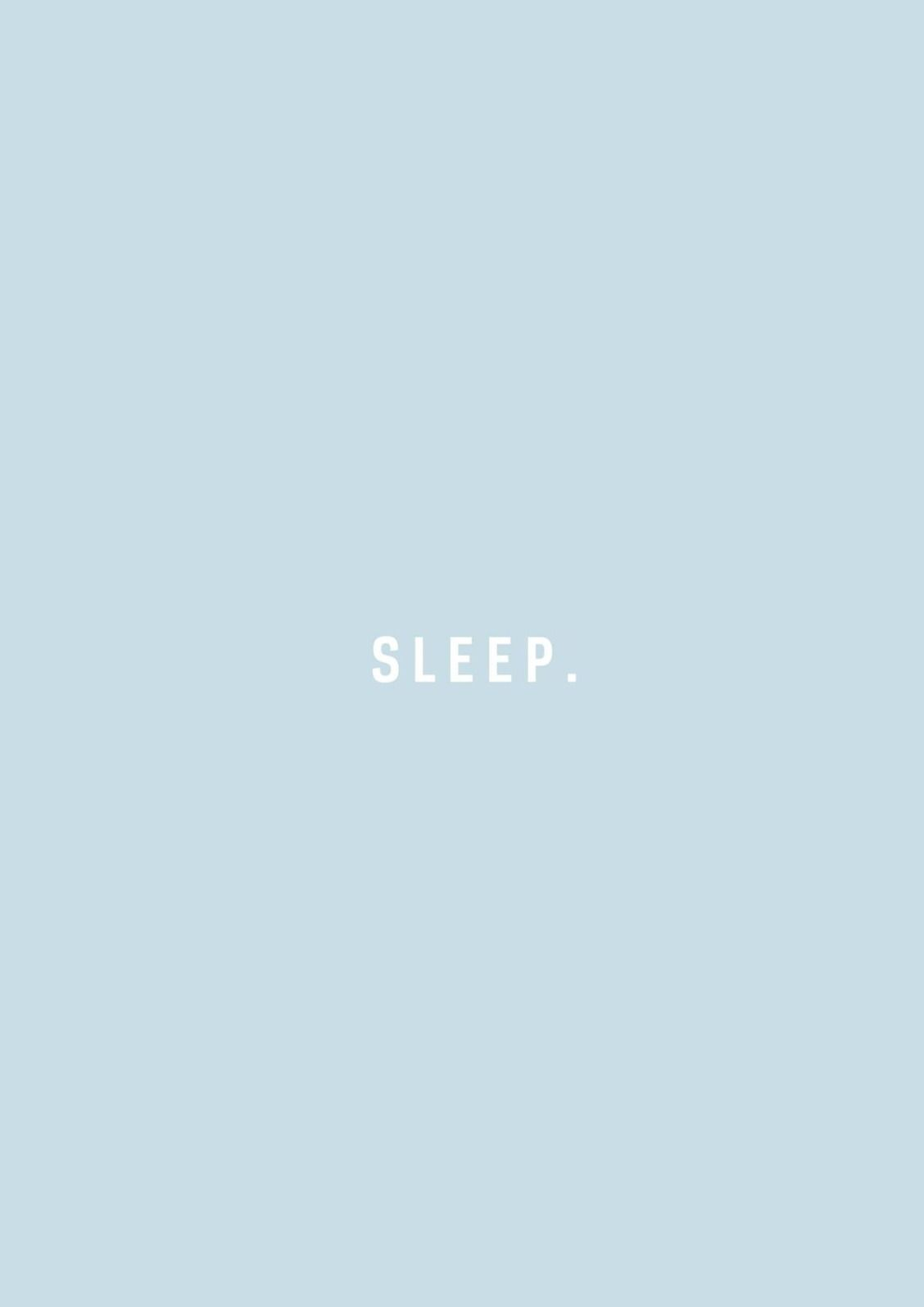 Sleep It S A Sunday Blue Aesthetic Wallpaper Quotes Aesthetic