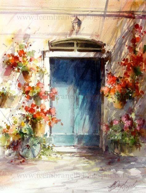 Fabio Cembranelli A Painter S Diary Watercolor Architecture