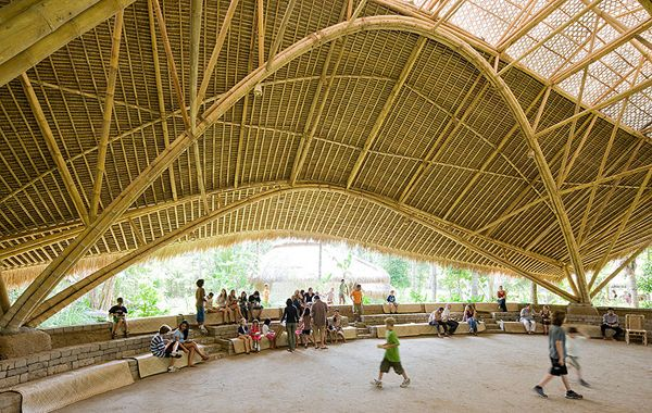 Green School By Pt Bambu Bali Indonesia With Images Bamboo