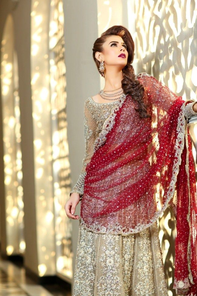 6503aaf78b1 Latest Bareeze bridal dresses 2017 2018 For Young Ladies