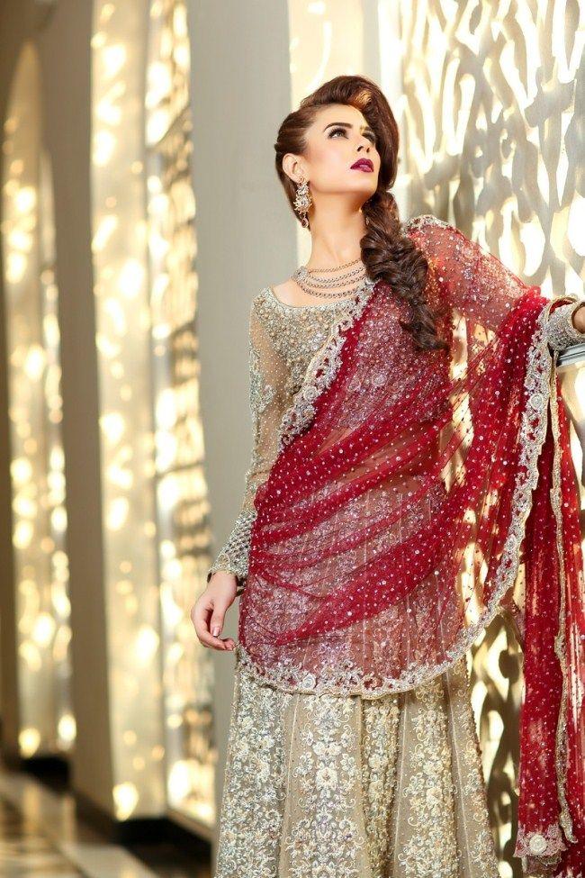 6503aaf78b1 Latest Bareeze bridal dresses 2017 2018 For Young Ladies