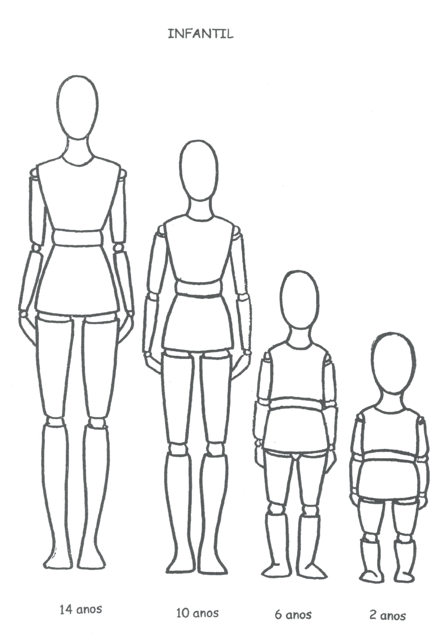 Child Fashion Template Easy Human Figure Drawing For Kids Body D I Y Your Own Childrens D Human Body Drawing Human Figure Drawing Children Fashion Illustration