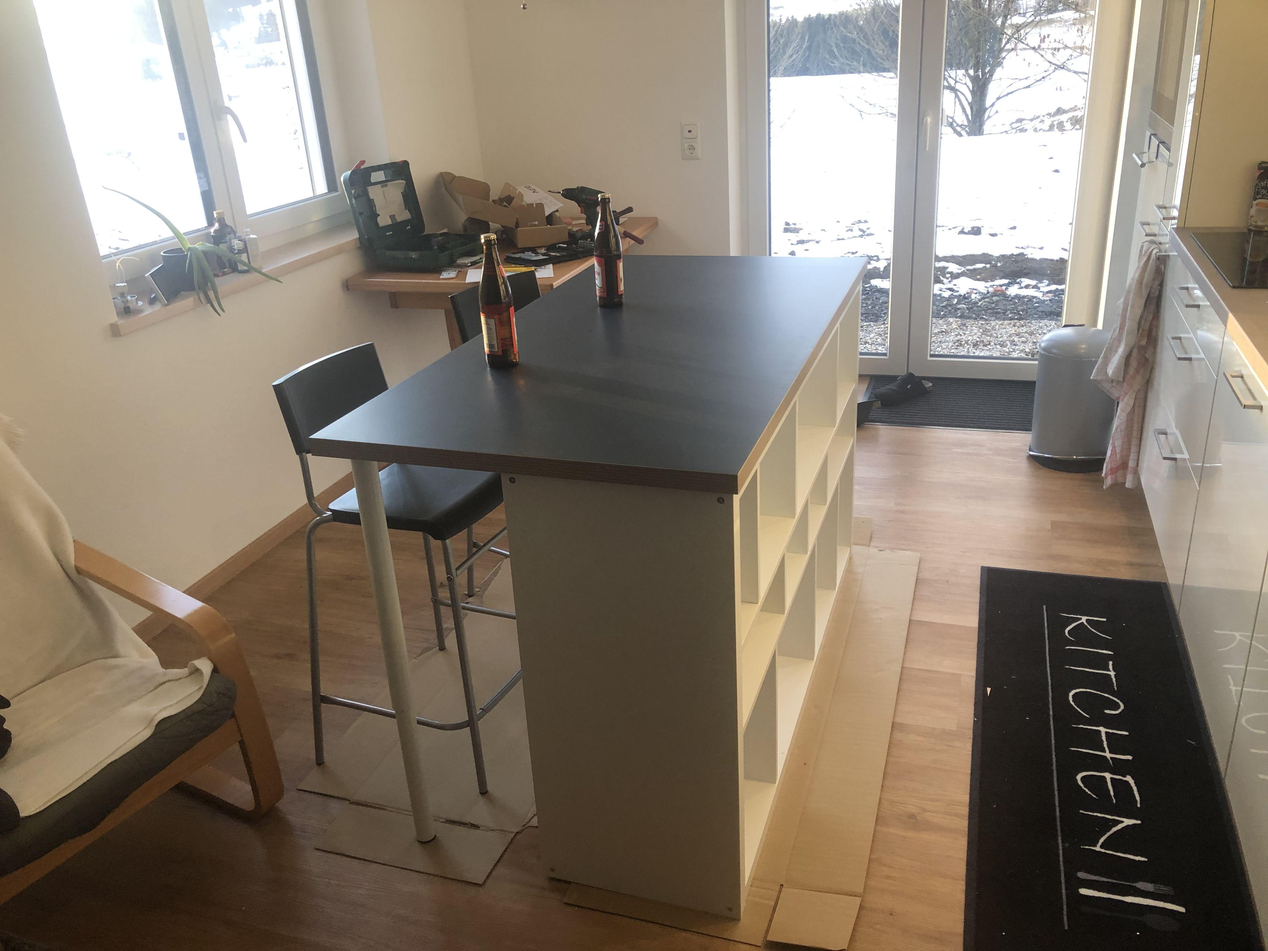 Mobile Kücheninsel Mit Sitzgelegenheit