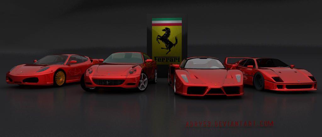 Ferrari Family Ferrari Sports Car Vehicles