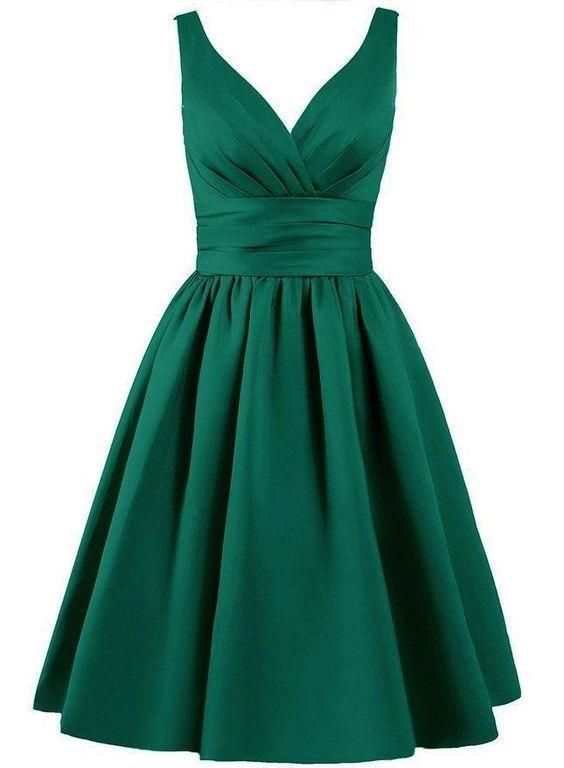Green Homecoming Dressshort Prom Dresses 2018ball Gown Dresssexy