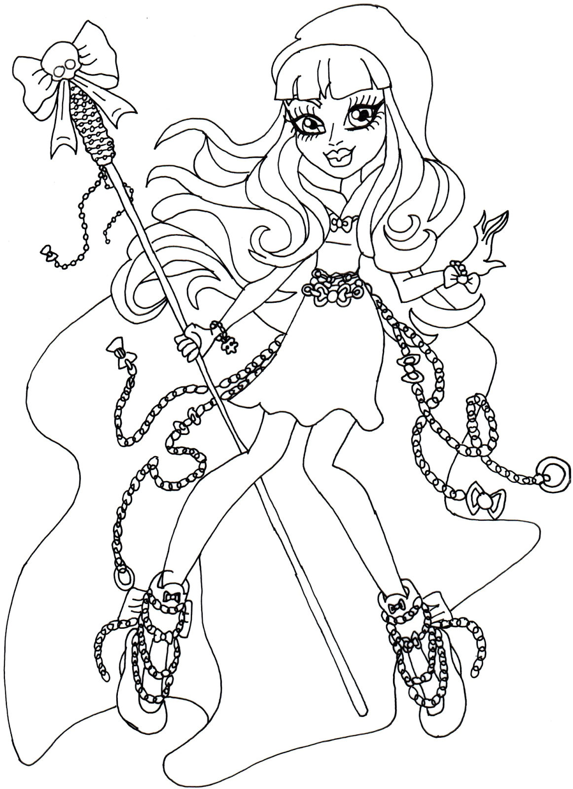 river styxx monster high coloring page png 1162 1600 monster