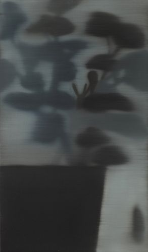 mrkiki:Hanna Kim,Nobody Knows. 2011,Oil on canvas,41x24x4.2cmVIA