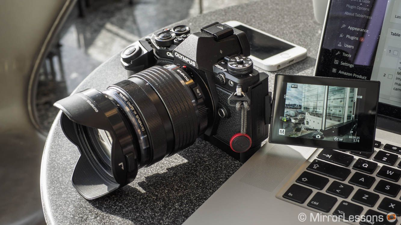 Olympus Om D E M5 Mark Ii Black With Hld 8g Grip Camera Watch Mirrorless Camera Olympus