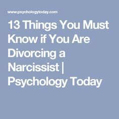 Dating after divorcing a narcissist