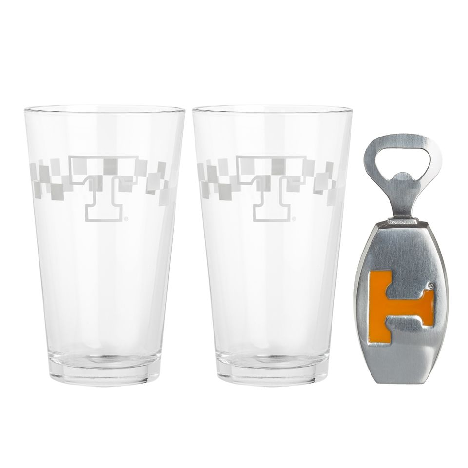 University of Tennessee Pub Glass/Opener Set from Arthur Court in Gainesvile, FL from Kitchen & Spice