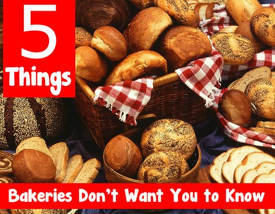 5 Things Bakeries Don't Want You To Know