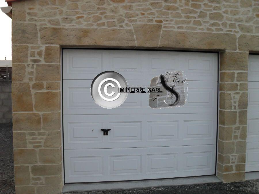 Garage, intérieur, façades, murets, contactez-nous pour un enduit - enduit pour mur interieur