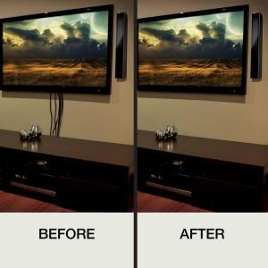 Hiding Cords Mounted Tv Above Fireplace