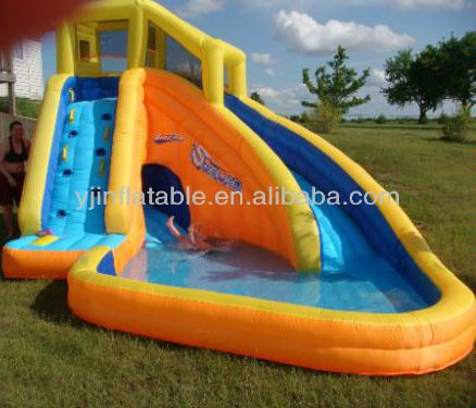 Inflatable water slide cheap inflatable water slide for Cheap inflatable pool
