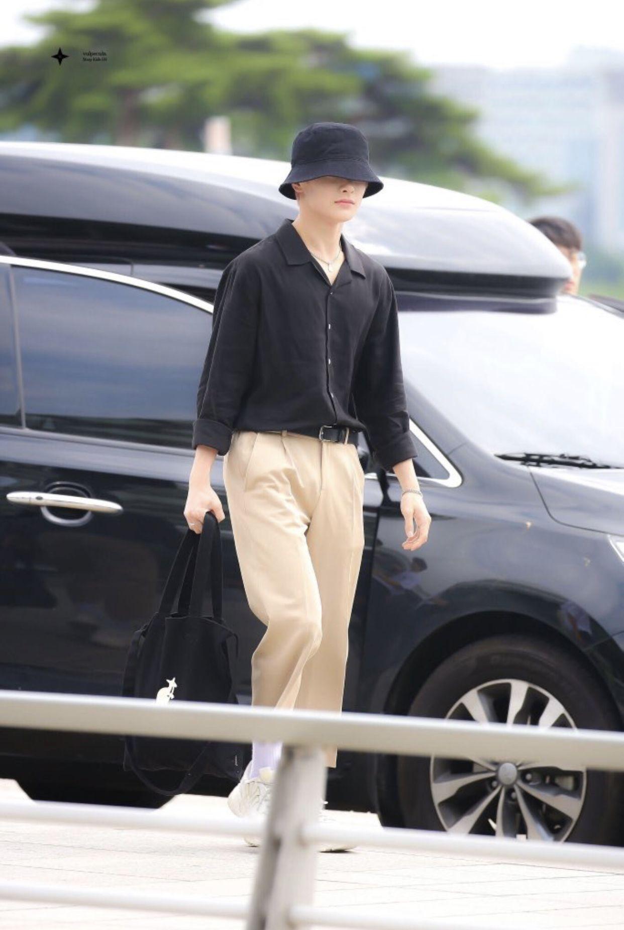 Straykids Yangjeongin Gaya Model Pakaian Korea Gaya Model Pakaian Gaya