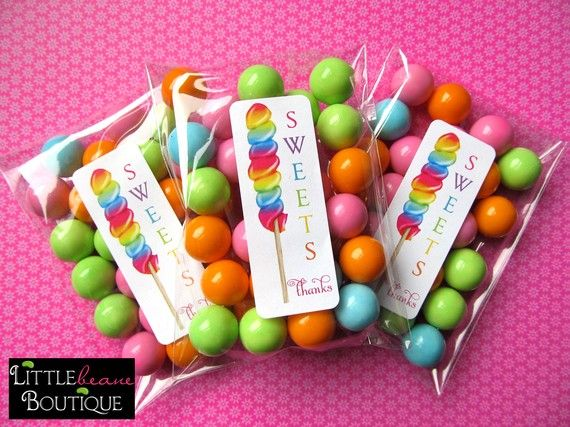 custom party favors party printables candyland bubbles