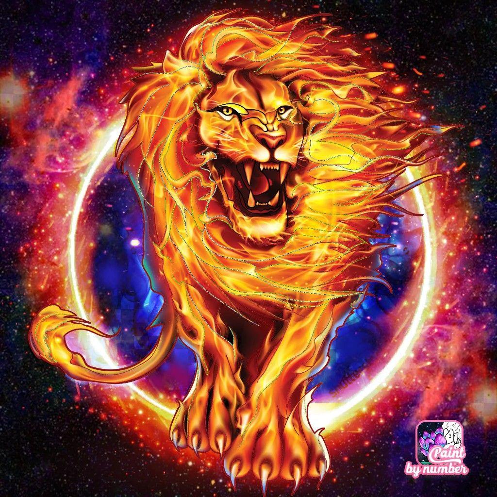Pin By Yuhbey Chen On Æ£'棒的插畫圖片 In 2020 Big Cats Art Lion Art Colorful Art