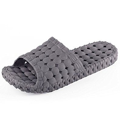 Maybest Unisex Bathroom Shower Slipper Non-slip Bubble Spa Massage Shoes  Household Sandal Review