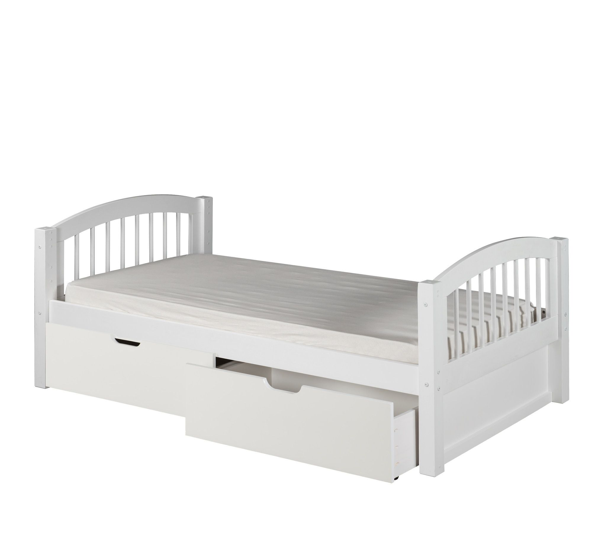 Isabelle Twin Slat Bed With Storage Toddler Bed With Storage