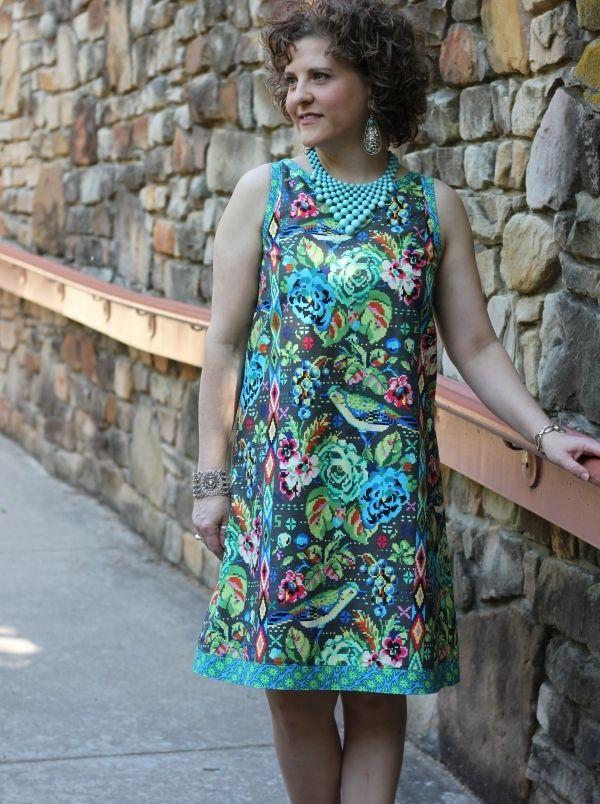 Mia Shift Dress (Pattern) | Sewing | Pinterest