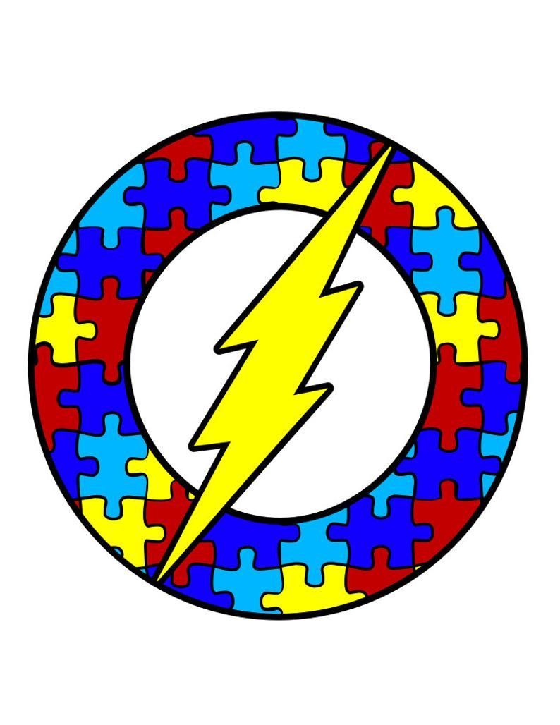 Autism Awareness Puzzle Pieces Superhero Logos Svg Pdf Png And Dxf Files Autism Puzzle Piece Autism Awareness Colors Autism Awareness