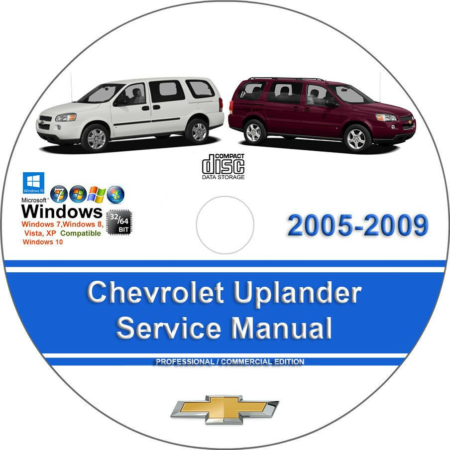 Advertisement Ebay Chevrolet Uplander 2005 2006 2007 2008 2009