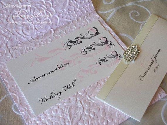 Blush pink wedding invitation set floral roses invitation quality wedding invitations at an affordable price australias most awarded invitation maker stopboris Choice Image
