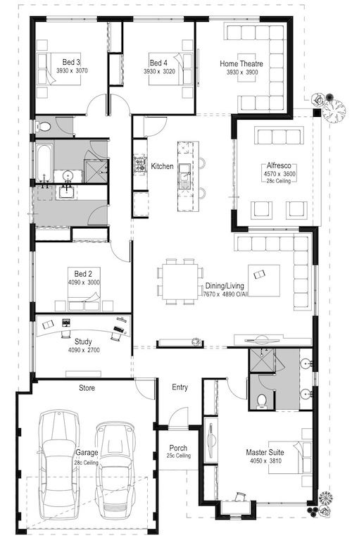The Bellagio Destination Series National Homes Luxury House Plans How To Plan Floor Plans